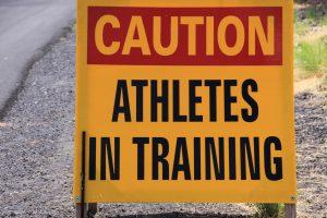 athletes in training ironman hawaii