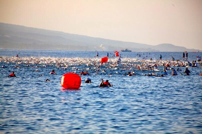 ironman hawaii swim