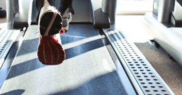 Triathlon Training Laufen auf dem Laufband
