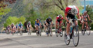 rennrad fahren am Berg