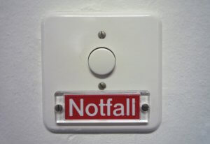 Notfall Knopf