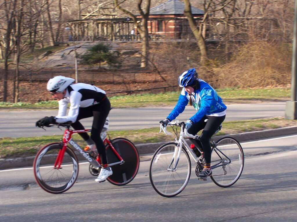 Rennrad gegen Triathlonrad