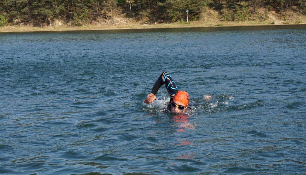 Freiwasserschwimmen: Orientierung im See
