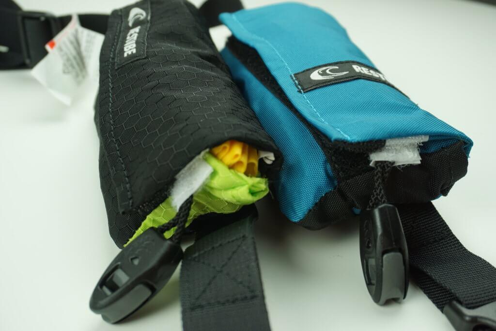 RESTUBE Test: Gepackte Taschen im Vergleich