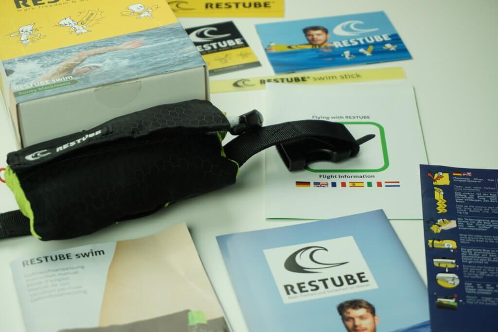 RESTUBE Test: Inhalte der Verpackung