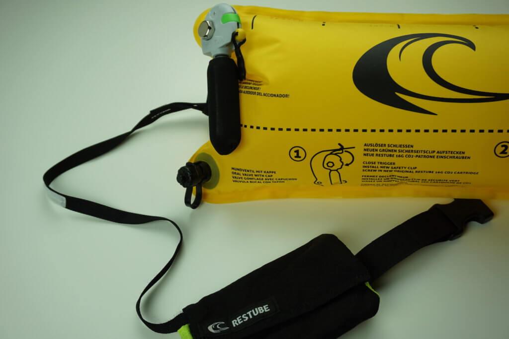 RESTUBE Test: Tasche und Verbindungsseil