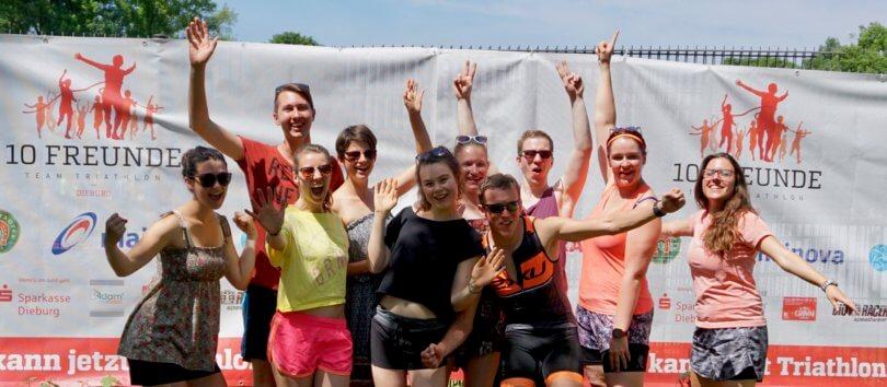 10 Freunde Triathlon Dieburg