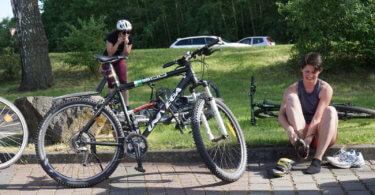 Triathlon Vorbereitung: Wechseln üben