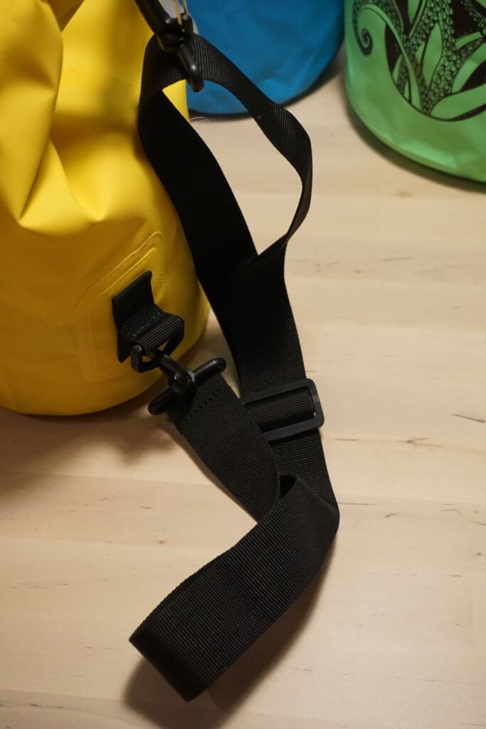 Drybags Test: Gurt im Detail