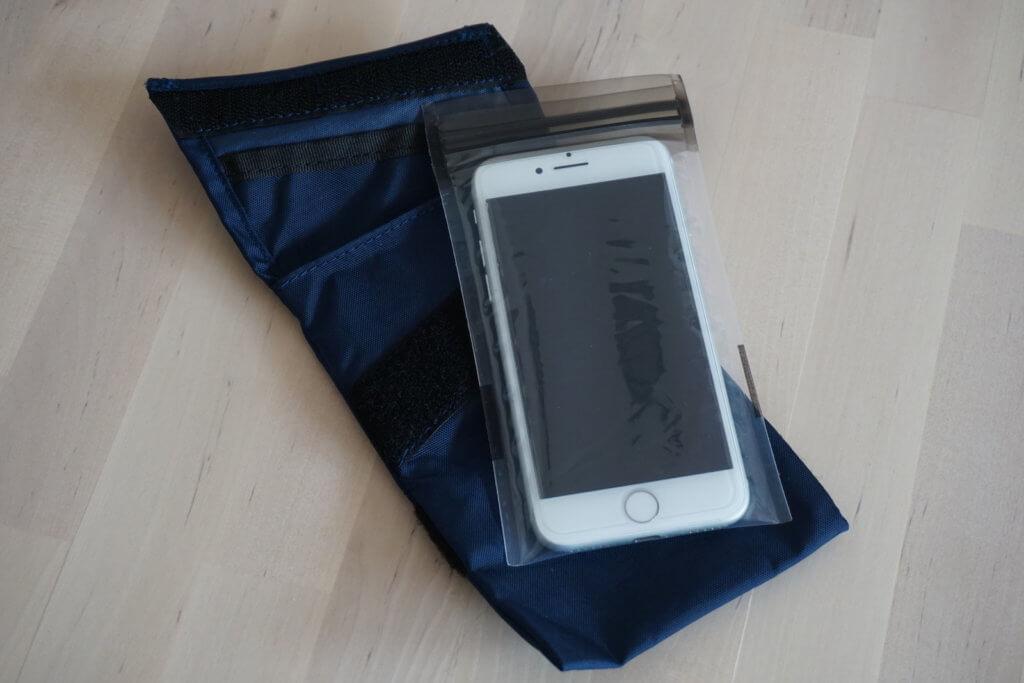 waterproofbag Test - iPhone 7 in Hülle