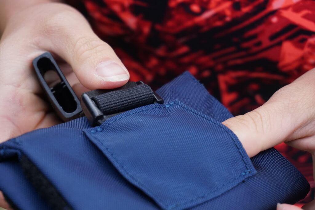 waterproofbag Test - Probleme beim anbringen an den Gürtel des RESTUBEs