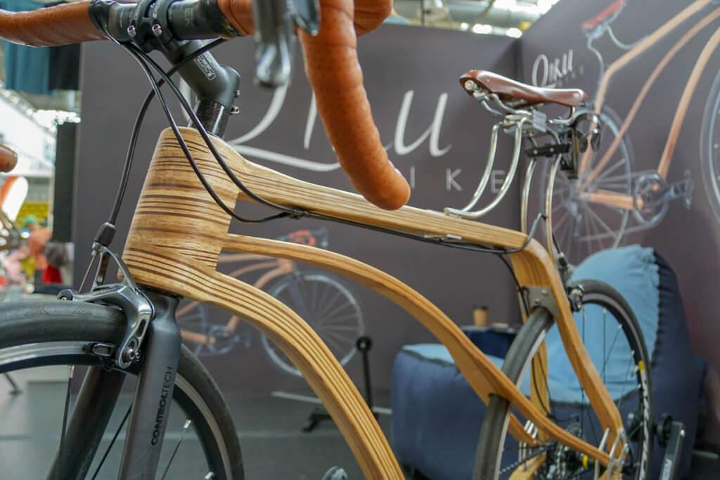 VELO Frankfurt 2018 - Fahrräder aus Holz zeigen, dass Radsport noch nachhaltiger sein kann