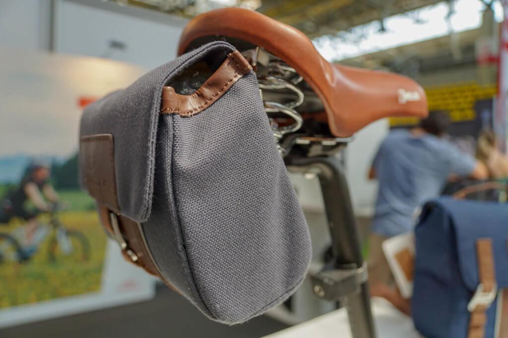 VELO Frankfurt 2018 - Taschen können überall angebracht werden