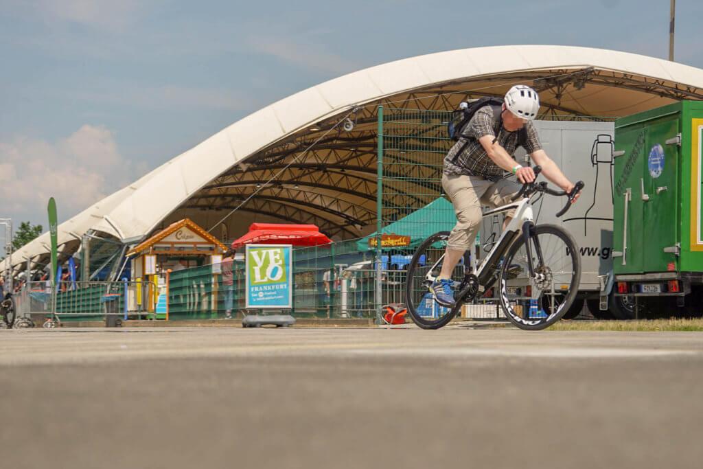 VELO Frankfurt 2018 - Ein Crossrad als E-Bike