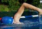 Die Hand im Schwimmsport