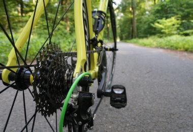 mit dem Rad zur Arbeit - eine Schaltung