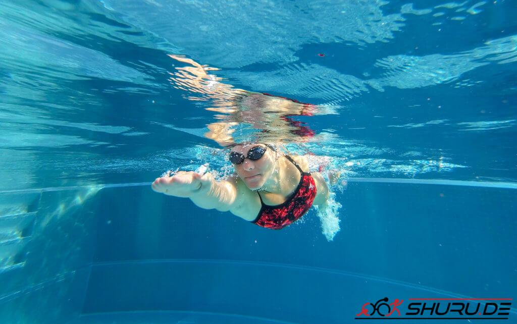 Kraulschwimmen Gleitphase