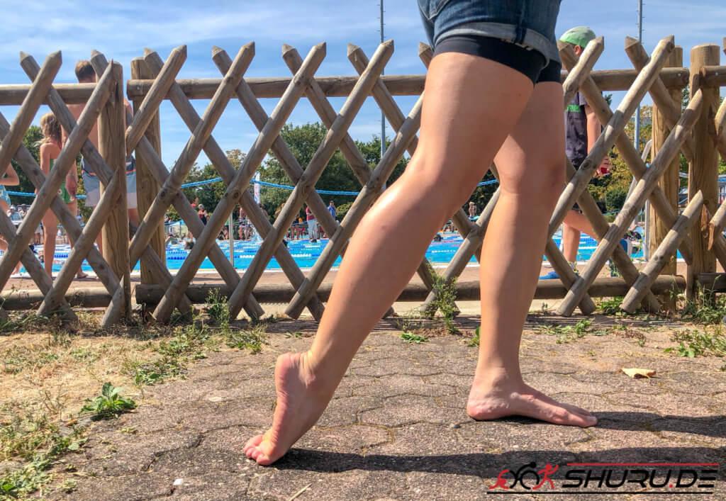 Beinschlag für Triathleten - Dehnübung 1 in der Übersicht