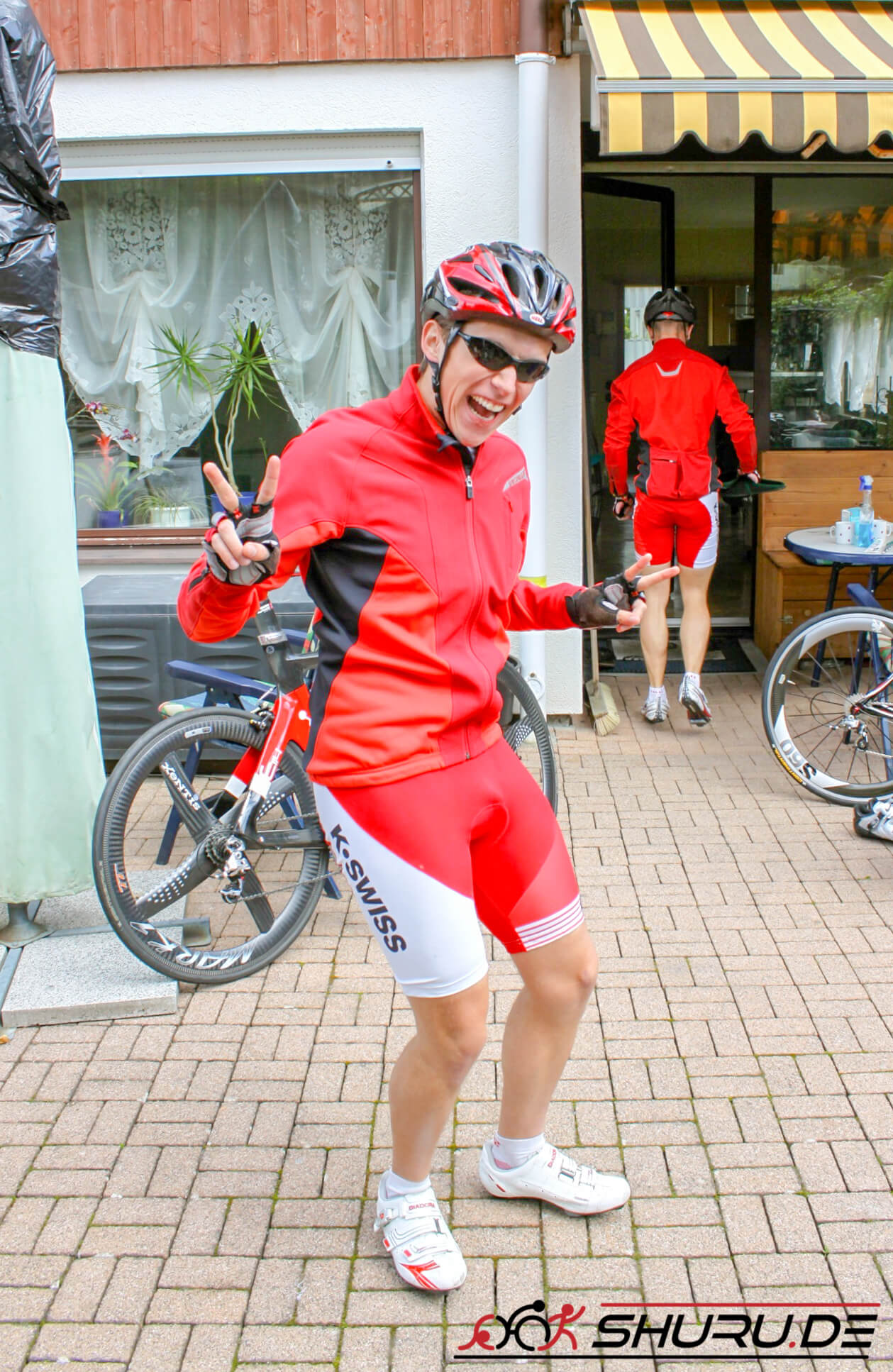 Fahrradbekleidung für den Frühling