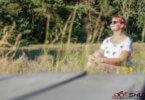 Energie tanken - Kathi am meditieren