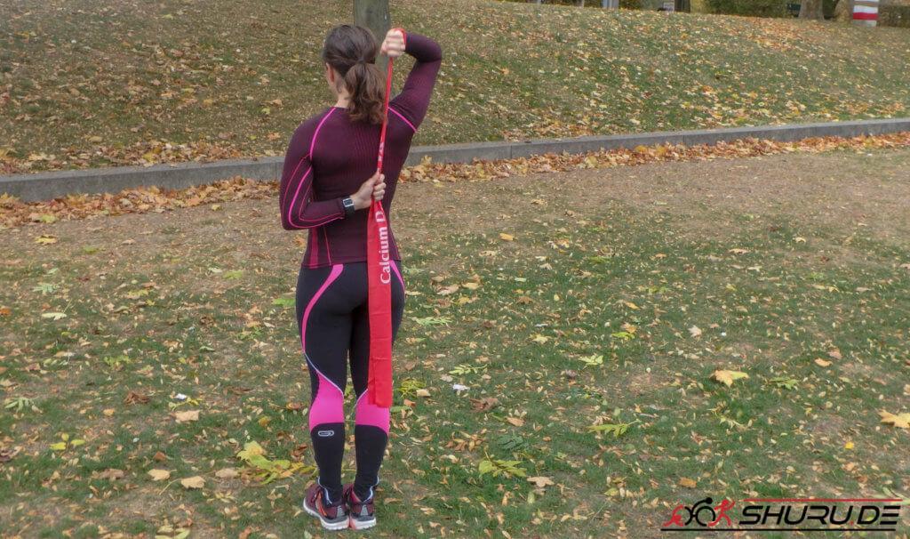 Krafttraining fürs Schwimmen: Training der Schultermuskulatur