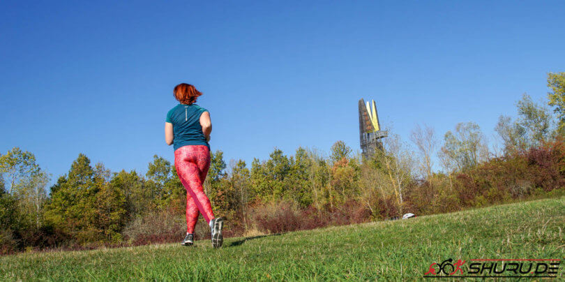Kathi beim Laufen