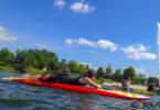 Freigewässer Training mit dem Rettungssport