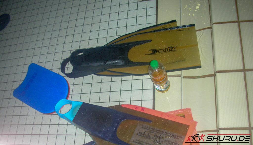 Rettungssport Fieberglasflossen