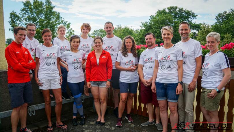 Shuru.de Team 10 Freunde Triathlon 2019