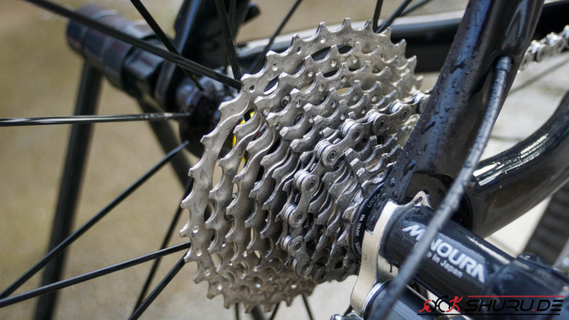 Fahrrad Pflege saubere Kette