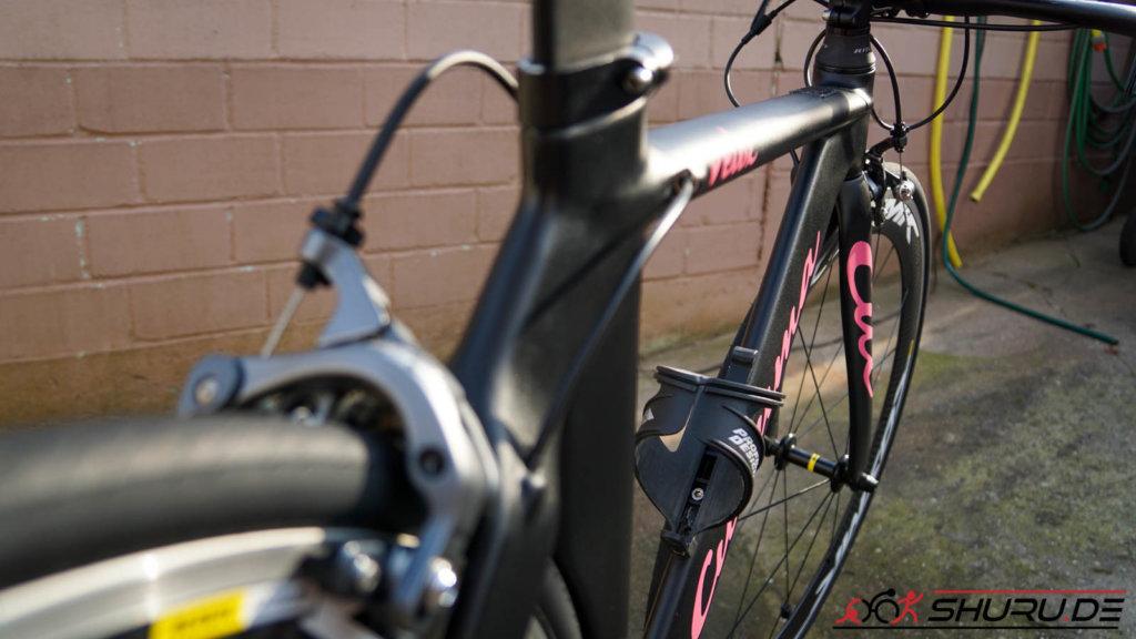 Fahrrad nach der Pflege