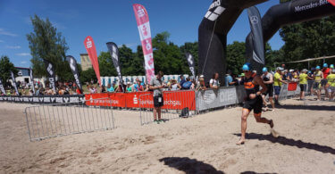 Triathlon Wettkampf Rolling Start